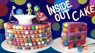getlinkyoutube.com-INSIDE OUT CAKE How To Cook That Ann Reardon Disney Pixar Movie Cake