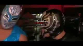 getlinkyoutube.com-Rey Mysterio & Sin Cara VS Primo & Epico