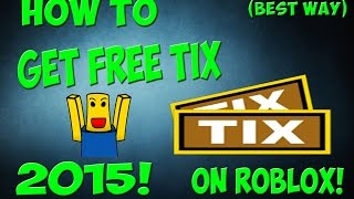 getlinkyoutube.com-How to get ROBUX/TIX on roblox for FREE! (2016) (Still working) No cheating! Fast!