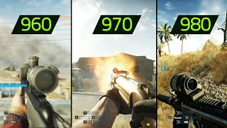 getlinkyoutube.com-BATTLEFIELD HARDLINE GTX 960 vs GTX 970 vs GTX 980 (Maxed out)