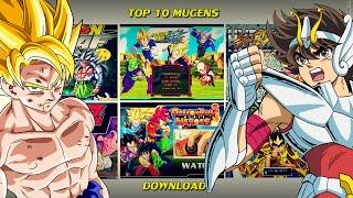 getlinkyoutube.com-Os Melhores Games Mugen [DOWNLOAD] - TOP 10