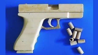 getlinkyoutube.com-Shell Ejection Rubber Band Gun - Eject Shells