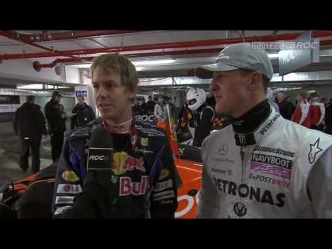 Schumacher vs Vettel, 2010 ROC (Race of Champions)
