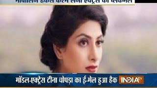 getlinkyoutube.com-Model Tina Chopra Blackmailed by a Hacker, Mumbai Police Arrested Him