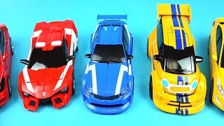 getlinkyoutube.com-TOBOT cars - A B C transformers and more car toys - ToyPudding 또봇 & 헬로카봇
