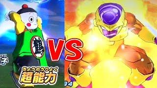 getlinkyoutube.com-【チャオズ君の低レートデッキで超ボスのゴルフリをたおす】SDBH スーパードラゴンボールヒーローズ 1弾【Chaos vs Golden Frieza】Super Dragonball Heroese