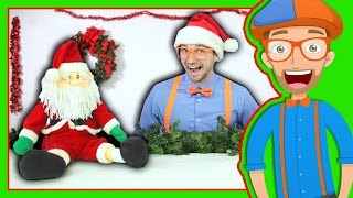 getlinkyoutube.com-Christmas Presents with Blippi Toys | Learn to Count for Toddlers