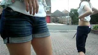jess and natalie - belly bash xxx