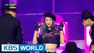 getlinkyoutube.com-EXID - HOT PINK [Music Bank HOT Stage / 2015.12.11]
