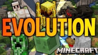 getlinkyoutube.com-Minecraft Evolution | w/ Bercea | Cum sa evoluezi si sa castigi | Ep #1