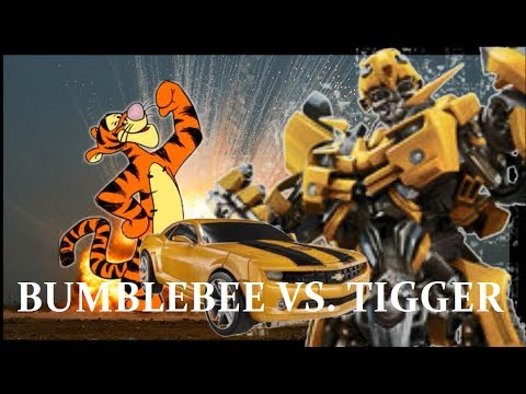 Transformers 4 Stop Motion: Bumblebee Vs. Tigger