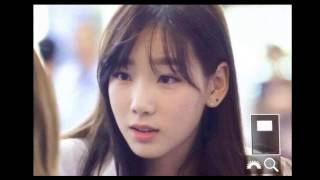 getlinkyoutube.com-SNSD Taeyeon apologizes to fans at the airport for dating EXO's Baekhyun