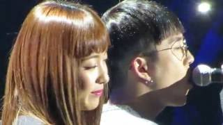 getlinkyoutube.com-160602 Kcon Paris Luna & Taeil - 사랑이었다(It Was Love) Fancam Full