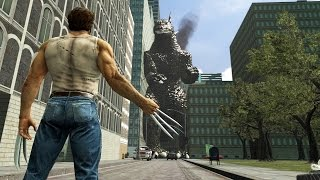 getlinkyoutube.com-[SFM] Godzilla vs Wolverine | Battle in the Movies