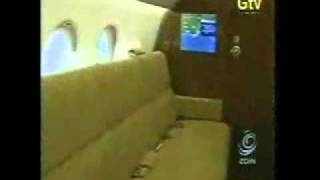 getlinkyoutube.com-Ghana Presidential jet interior