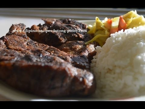 Beef Tapa Homemade Filipino Recipe Lutong Pinoy