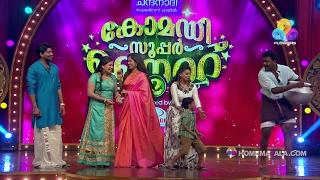 getlinkyoutube.com-Comedy Super Nite - 2 with Seetha Serial Team Part - 2 │Flowers│CSN# 180