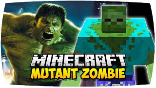 getlinkyoutube.com-MINECRAFT: MUTANT ZOMBIE MOD (HULK IN MINECRAFT!) | Vorstellung Mutant Creatures Mod (Deutsch | HD)
