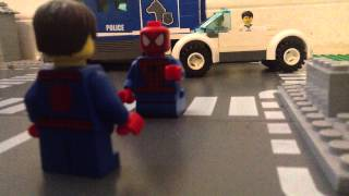 getlinkyoutube.com-Lego Amazing Spider-Man 2 (Fighting Rhino) Ending