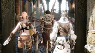 getlinkyoutube.com-Bless Online - CLass Assassin Sylvan Elf Main Quest Story Flying Dragon