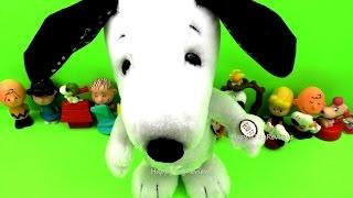getlinkyoutube.com-2015 THE PEANUTS MOVIE HAPPY DANCE SNOOPY DOG PLUSH TOY McDONALD'S HAPPY MEAL TOYS
