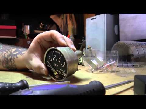 Тюнинг шкал приборов УАЗ 469 Светодиодная подсветка