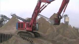 getlinkyoutube.com-Long Reach Excavator Hitachi 850  Land & Water