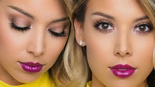 getlinkyoutube.com-Too Faced Chocolate Bar Tutorial (one brand) | Lustrelux