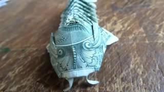 getlinkyoutube.com-Origami Dollar Fish