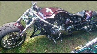 getlinkyoutube.com-Unbelievable custom motorcycles. Poland, Łagów 12-07-2014