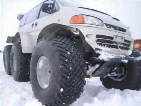 Вездеход Литвина.All-terrain vehicle Litvina 6x6