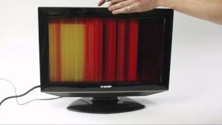getlinkyoutube.com-LCD TV Fault Repair Diagnostics - Vertical Lines
