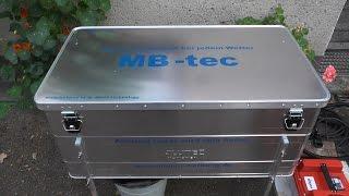 getlinkyoutube.com-Mein Neuer Dampfwachsschmelzer für 26 DN Waben