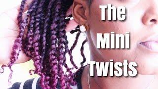 getlinkyoutube.com-Natural Hair | The Mini Twists