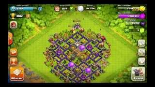 getlinkyoutube.com-Clash of clans Mejor diseño ayuntamiento nivel 8 (para trofeos)