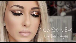 getlinkyoutube.com-NEW YEAR'S EVE Makeup | Urban Decay x Gwen Stefani Palette Glitter