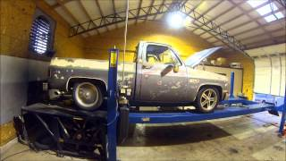 getlinkyoutube.com-Dyno 5.3 Home Ported Heads '84 Chevy C10 LS6 Cam 4L80E Truck