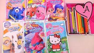 Dibujos para colorear de Trolls, Hello Kitty, Shopkins, Minions, Shimmer & Shine y Buscando a Dory