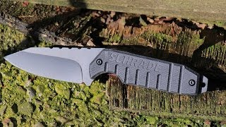 getlinkyoutube.com-NEW! Schrade Compact Fixed Blade, Multi-Carry Knife - SCHF16 - Best Fixed Blade Drop Point Knife