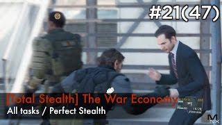 【MGSV:TPP】Episode 21(47) : [Total Stealth] The War Economy (S Rank/All Tasks/Perfect Stealth)