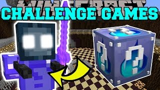 getlinkyoutube.com-Minecraft: KRAKEN CHALLENGE GAMES - Lucky Block Mod - Modded Mini-Game