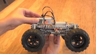 getlinkyoutube.com-Crocodile: Robust 4WD All Wheel Steering Off Road LEGO RC Car
