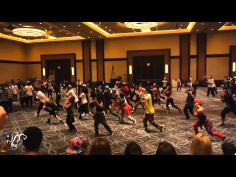 Brian Puspos| Urban Moves Workshops| Hip Hop International 2012| Step x Step Dance