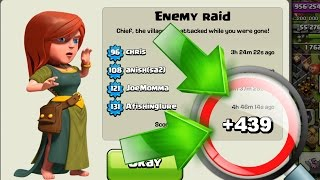 getlinkyoutube.com-WORLDS FUNNIEST DEFENCE !?! +439 Trophies On Defence | Clash Of Clans Epic Strategy
