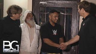 getlinkyoutube.com-WWE Network: Lovepreet Singh joins the WWE Performance Center: WWE Breaking Ground, December 7, 2015