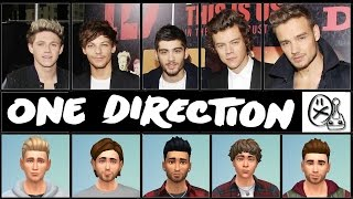 getlinkyoutube.com-NEW!!! ONE DIRECTION * Niall Zayn Liam Harry Louis * Best Celebrity Sims of the Sims 4 community