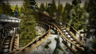 """Mine Train: """"Crazy Grizzly Mountain"""" RCT3 By JameS StudioS """"Grizzly Peak Remake"""""""