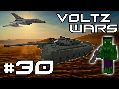 Minecraft Voltz Wars - Gun Turret Troubles! #30