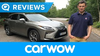 Lexus RX SUV 2017 review | Mat Watson Reviews