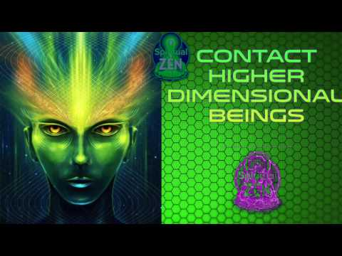 Contact Higher Dimensional Beings Fast! Subliminal Subsconsious Hypnosis Binaural Beat Meditation